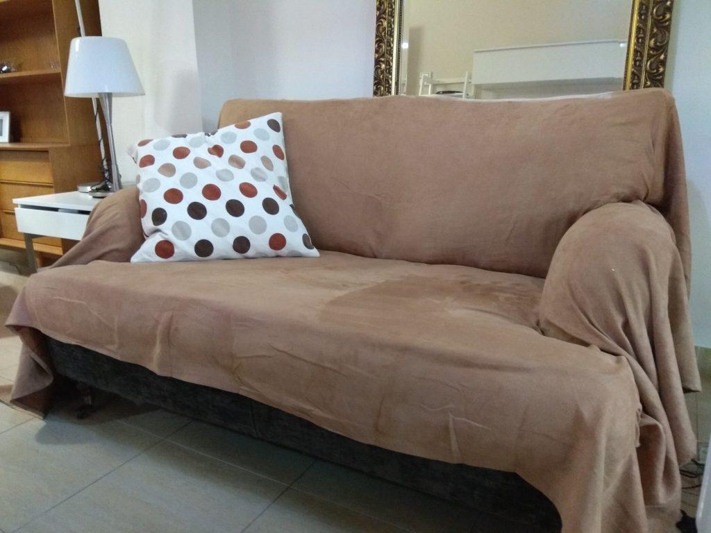 Funda de sofá efecto antelina