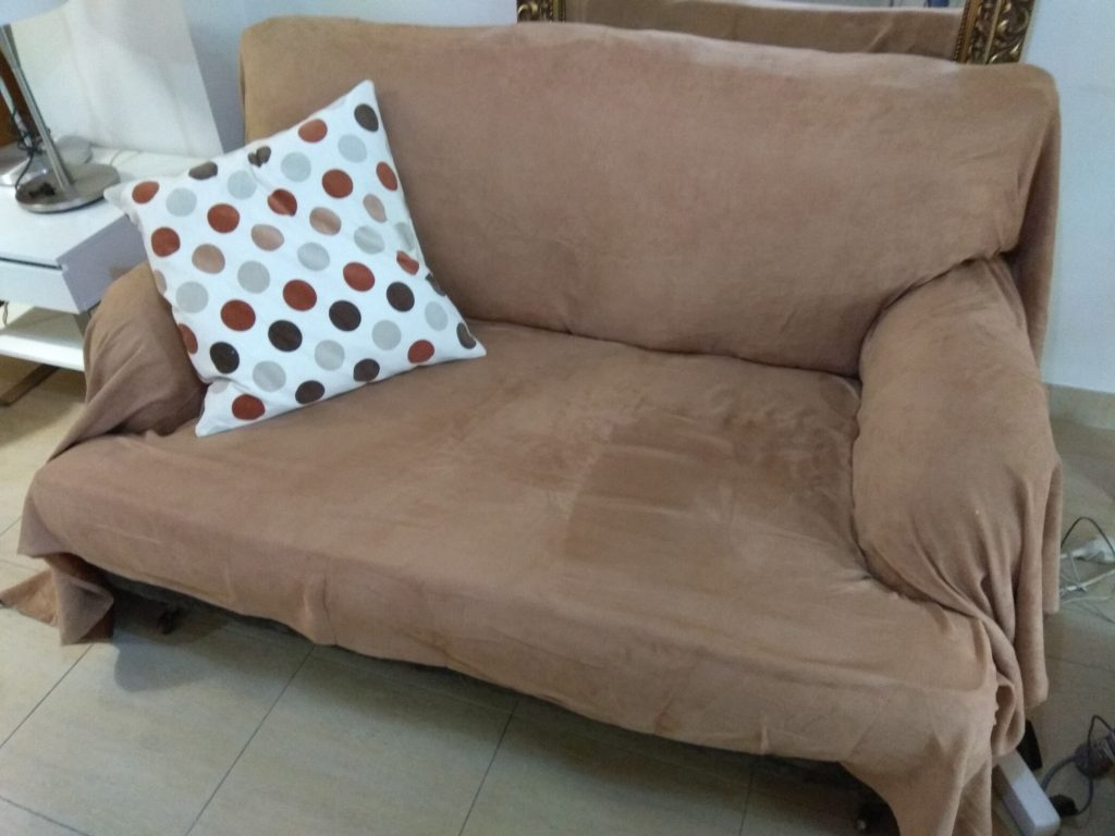 Funda/plaid para el sofá
