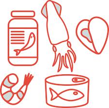 crustáceos cómo el krill, mariscos y pescados, son buenas fuentes de omega 3 para los gatos