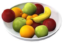 frutas y verduras aportan vitaminas y minerales, y son fuentes de fibra
