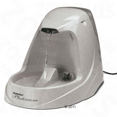 Una cascada de agua para nuestros peludos