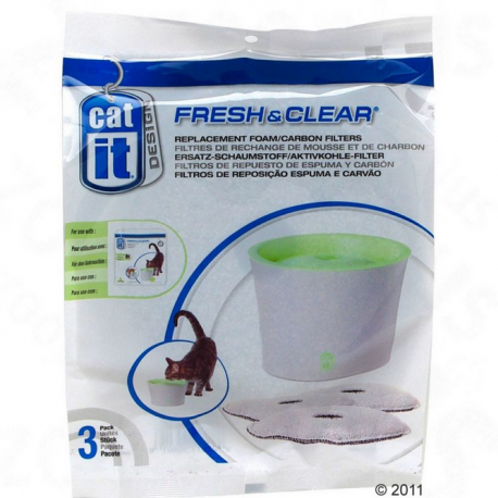 filtro fuente de agua catit design