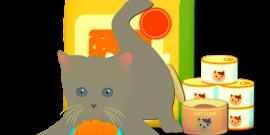 alimentación para gatos