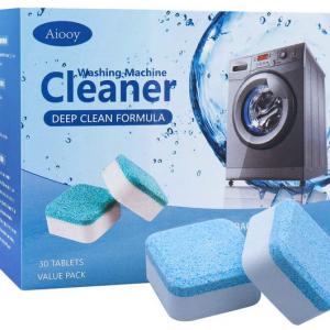 pastillas para limpieza de lavadora
