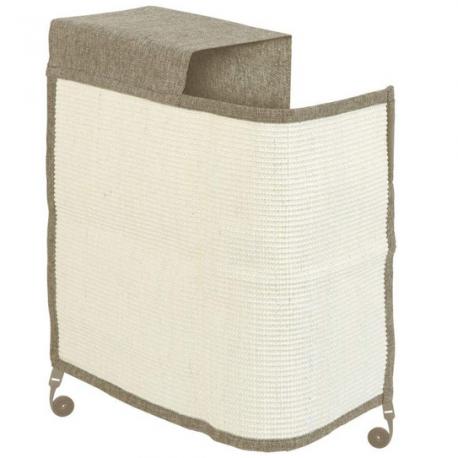 fabricado en lino y sisal natural