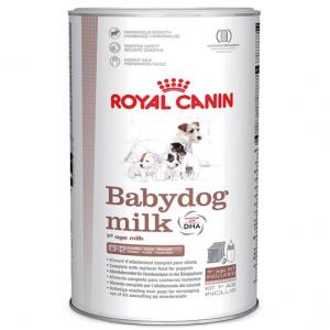leche de sustitución para cachorros de perro