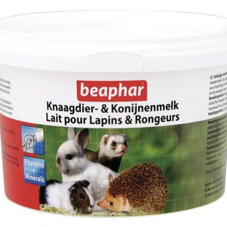 Leche maternizada para pequeños animales, como roedores, conejos, erizos