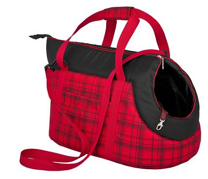 bolso transportín rojo