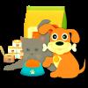 alimentacion, en pienso y comida húmeda, para perros, gatos y otras mascotas